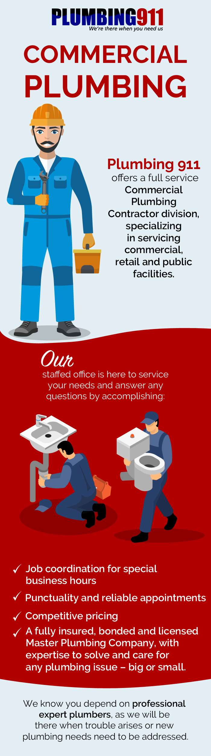 Contact Plumbing 911 for Commercial Plumbing Services in Norton, OH