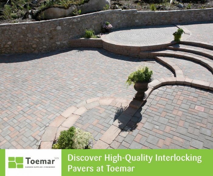 Discover High-Quality Interlocking Pavers at Toemar