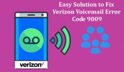 Easy Solution to Fix Verizon Voicemail Error Code 9009