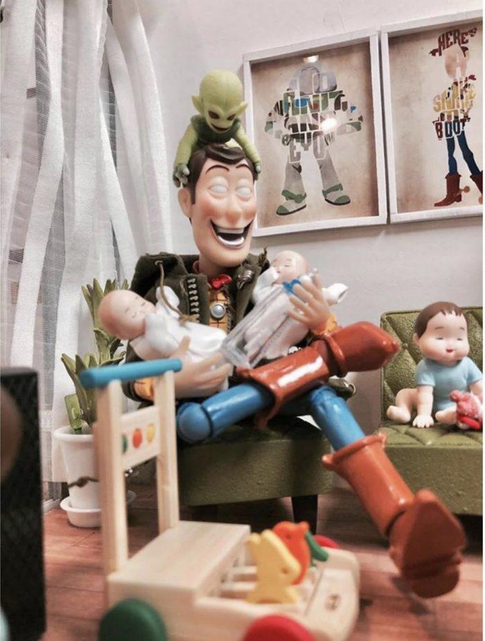 Toy Story – baby sitting