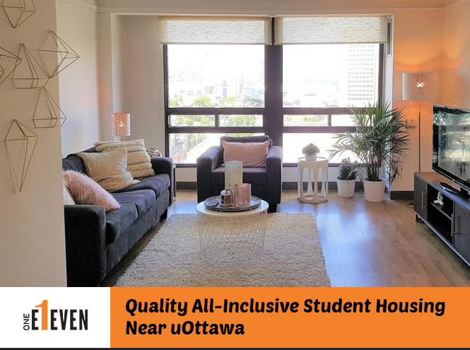 1Eleven – Quality All-Inclusive Student Housing Near uOttawa