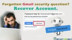 Recover Gmail Account Password Even If You Forgot the Security Question