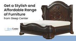 Get a Stylish and Affordable Range of Furniture from Sleep Center