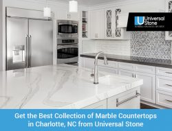 Get the Best Collection of Marble Countertops in Charlotte, NC from Universal Stone