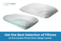 Get the Best Selection of Pillows at the Lowest Prices from Sleep Center