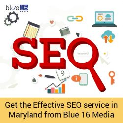 Get the Effective SEO service in Maryland from Blue 16 Media