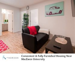 Horizon Residence – Convenient & Fully-Furnished Housing Near MacEwen University