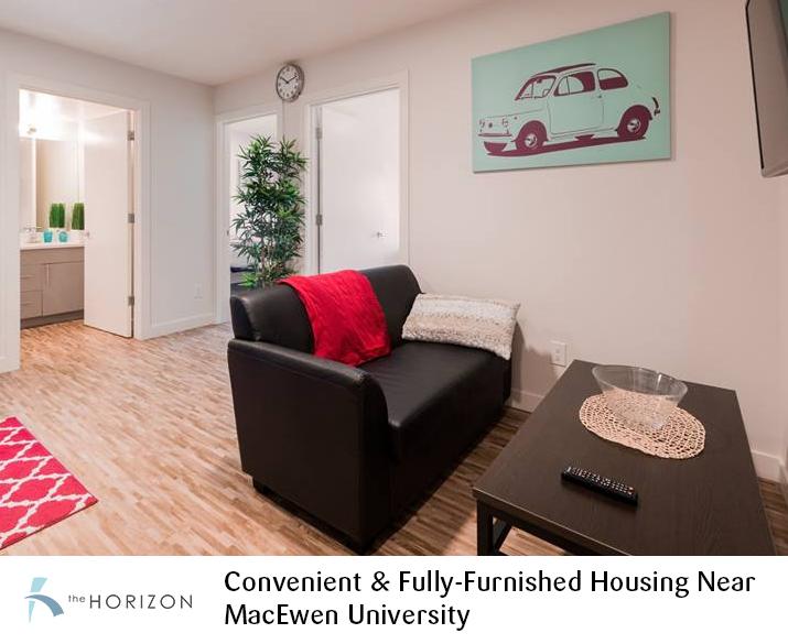Horizon Residence – Convenient & Fully-Furnished Housing Near MacEwen University