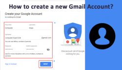 How to create a new Gmail Account?