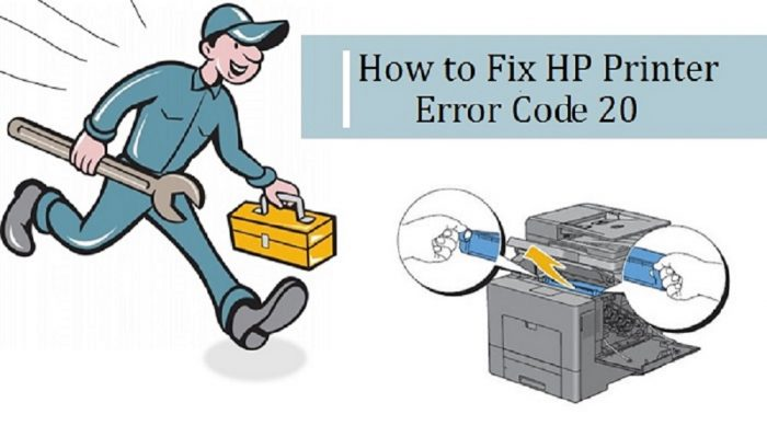 How to Fix HP Printer Error Code 20