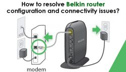How to resolve Belkin router configuration and connectivity issues?