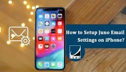 How to Setup Juno Email Settings on iPhone?