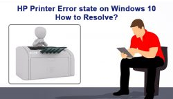 HP Printer Error state on Windows 10: How to Resolve?