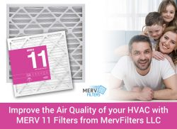 Improve the Air Quality of your HVAC with MERV 11 Filters from MervFilters LLC