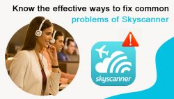Know the effective ways to fix common problems of Skyscanner