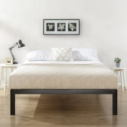 Mainstays Metal Platform Bed, Multiple Sizes – Walmart.com