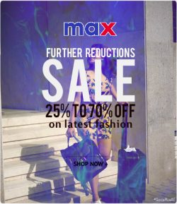 Max Fashion UAE Coupon Codes