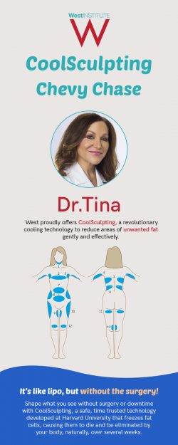 Meet Dr. Tina West at The West Institute for the Best CoolSculpting in Chevy Chase