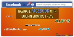 Navigate Your Facebook Account with Built-In Shortcut Keys!