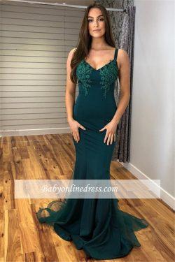 Fashion Abendkleider Lang Grün | Abiballkleider Online Kaufen