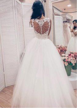 Designer Brautkleider mit Spitze | Prinzessin Hochzeitskleider Online