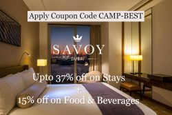 Savoy Dubai Exclusive Coupon Code