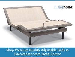 Shop Premium Quality Adjustable Beds in Sacramento from Sleep Center