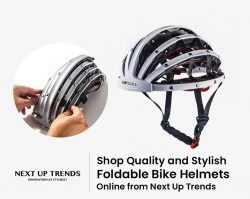Shop Quality and Stylish Foldable Bike Helmets Online from Next Up Trends