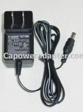 Canon AC-380 AC Adapter 6.3V 0.4A AC380