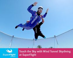 Touch the Sky with Wind Tunnel Skydiving at SuperFlight