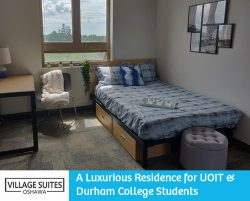 Village Suites Oshawa – A Luxurious Residence for UOIT & Durham College Students
