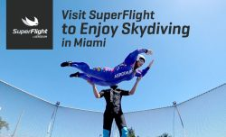 Visit SuperFlight to Enjoy Skydiving in Miami