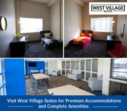 Visit West Village Suites for Premium Accommodations and Complete Amenities