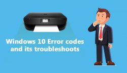 Windows 10 Error codes and its troubleshoots