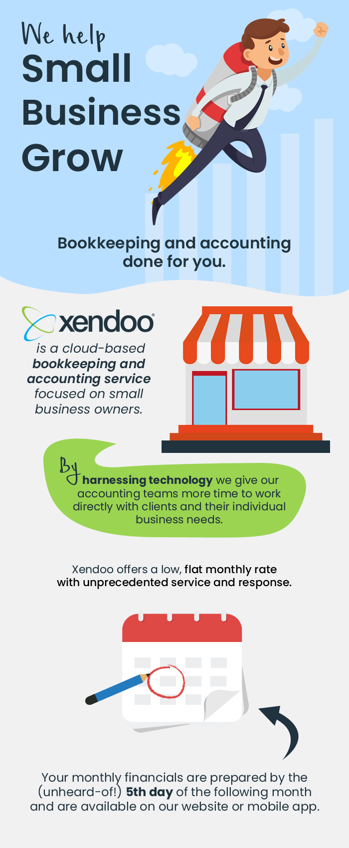 Xendoo – An Online Accounting & Bookkeeping Service Provider