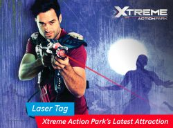 Laser Tag: Xtreme Action Park's Latest Attraction