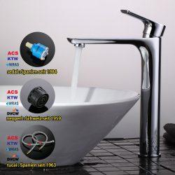 Wie man den Badezimmerhahn säubert und wartet