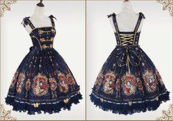 かわいいロリータ服:ワンピース