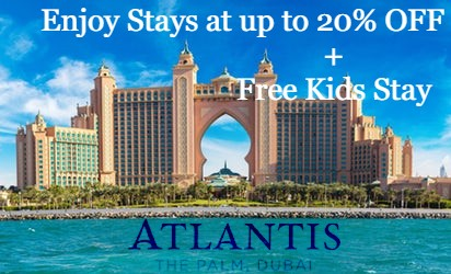Atlantis The Palm: Up to 20% Off Coupon Code