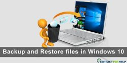 Easy Steps to Backup and Restore files in Windows 10