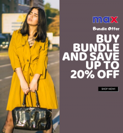 Max Fashion Bundle Offer