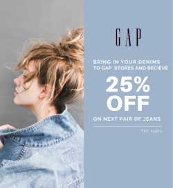 GAP UAE Denim Offer