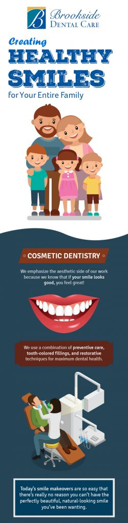 Transform your Smile with Cosmetic Dentistry Services in Allentown, PA from Brookside Dental Care