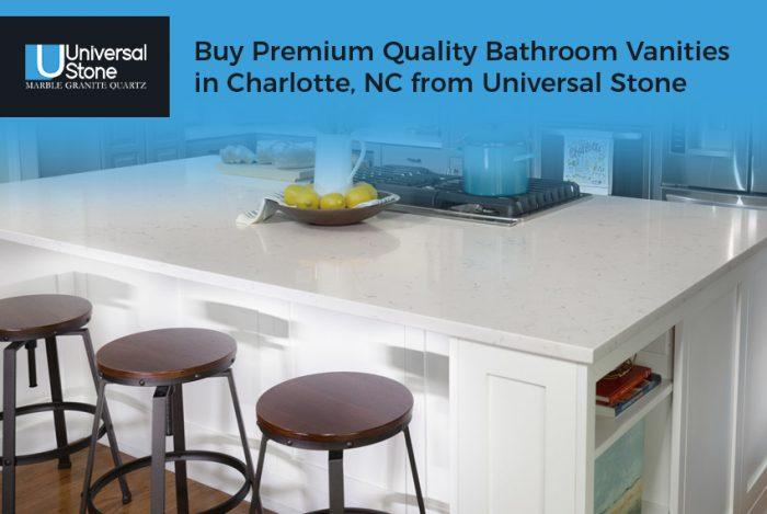 Buy Premium Quality Bathroom Vanities in Charlotte, NC from Universal Stone