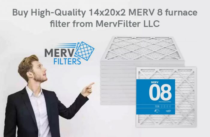 Buy High-Quality 14x20x2 MERV 8 furnace filter from MervFilter LLC
