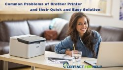 Common Problems of Brother Printer and their Quick and Easy Solution