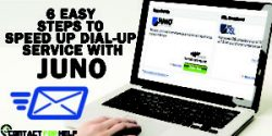 6 Easy Steps to Speed up Dial-Up Service with Juno