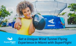 Get a Unique Wind Tunnel Flying Experience in Miami with SuperFlight