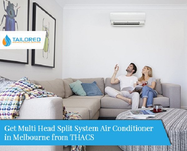 Get Multi Head Split System Air Conditioner in Melbourne from THACS