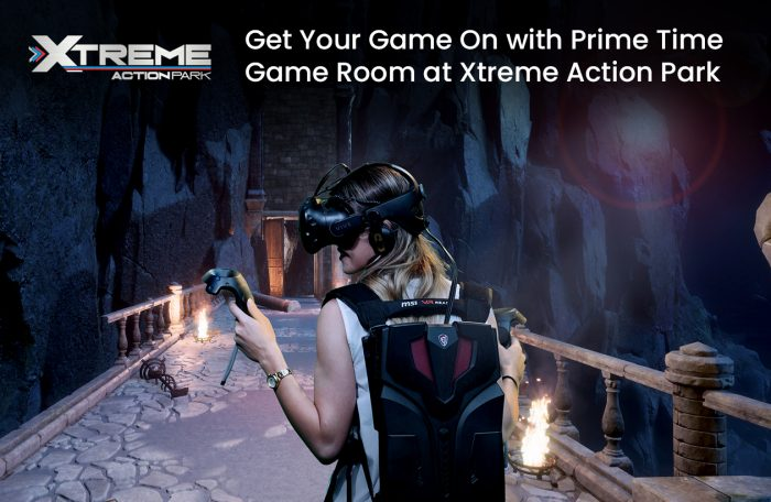 Get Your Game On with Prime Time Game Room at Xtreme Action Park